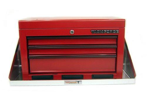 Pit Posse Aluminum Tool Box Tray Shelf Storage Cabinet Enclosed Cargo Race Trailer Shop Garage Accessory NHRA
