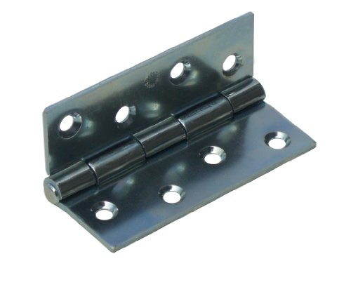 1 x 100 mm x 72 mm Scharniere verzinkter Stahl Türanschlag.