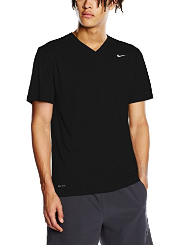 Men's Nike Legend 2.0 Training T-Shirt Black/Matte Silver Size X-Large