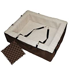 Pet Gear Designer Booster Pet Bed X-Large Chocolate
