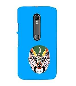 ifasho Designer Phone Back Case Cover Motorola Moto X Style :: Moto X Pure Edition ( Owl Tattoo Art Design )