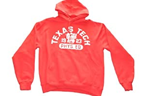 Texas Tech Red Raiders Champion Red Phys. Ed Hooded Sweatshirt (L) by Champion