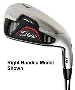 Titleist Ap1 712 Irons 4-Gw Stiff Flex *Left Handed* by Titleist