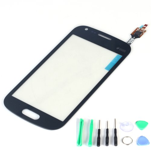 Generic Black Touch Screen Digitizer Outer Glass Replacement (Lcd Display Not Included) For Samsung S7580 S7582 Galaxy S Duos 2 front-123279