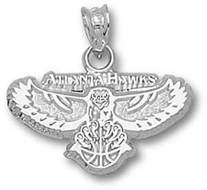 Logoart Atlanta Hawks 5 8 Sterling Silver Pendant by Logo Art