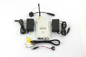 Hot Mini pinhole Wireless Security CCTV Camera DVR Kit