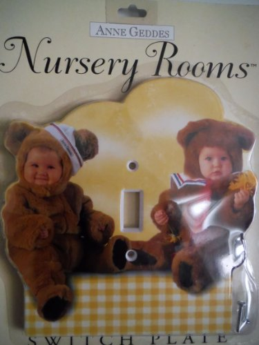 "Switch Plate ""Nursery Rooms"" by Anne Geddes - 1"
