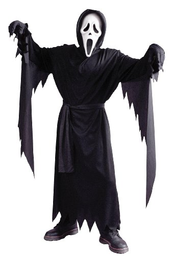 SCREAM 4 Movie Childs Ghost Face Up To 12 Yrs HALLOWEEN Fancy Dress Size