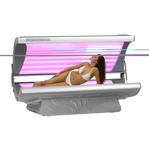 Sun Technologies Solar Storm 24R with Arm and Face Tanners