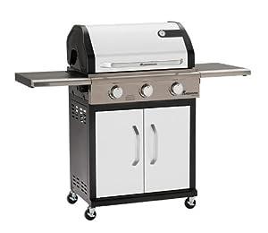 Landmann 12933 Barbecue à Gaz de Tour avec 3 Brûleurs Émaillée Métallique 80,5 x 63 x 68 cm