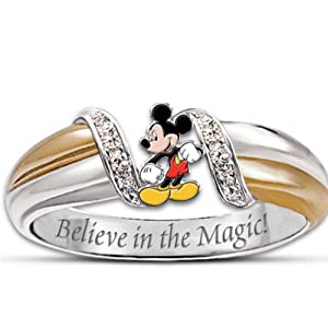 s ring the magic of mickey ring by the