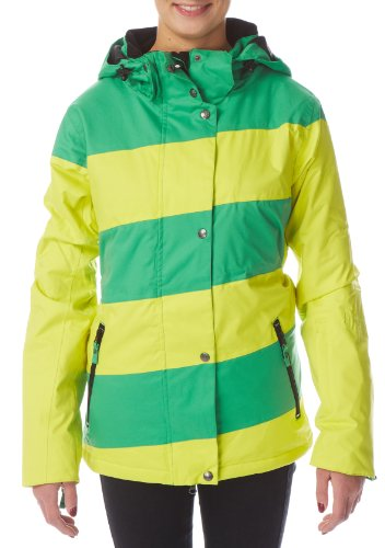 LIGHT Erwachsene Jacke Mia, Sulphur Kelly Green, M, FA770-13
