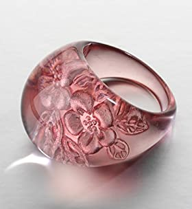 Floral Dome Ring - Marks & Spencer :  flower ring
