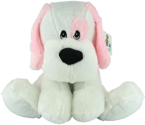 Plush Rattle Blue Dog by Beverly Hills Teddy Bear Co. - 1