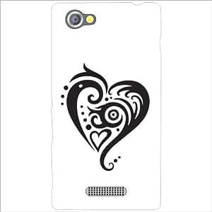 Sony Xperia M - Lazer Print Love Dose Designer Cases