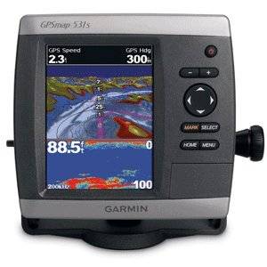 Garmin GPSMAP 531 5-Inch Waterproof Marine GPS and Chartplotter