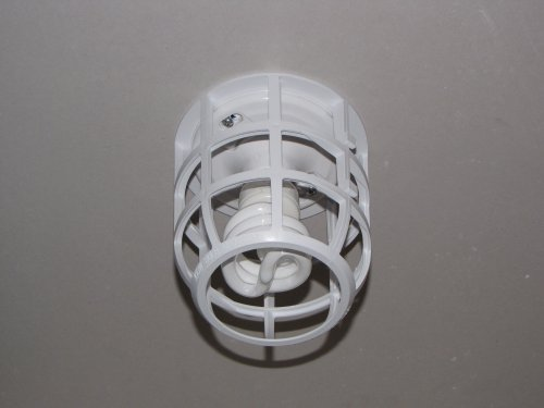 LightCage Light Bulb Safety Cage (1 ea) - Contractor Grade (Light Bulb Cover compare prices)