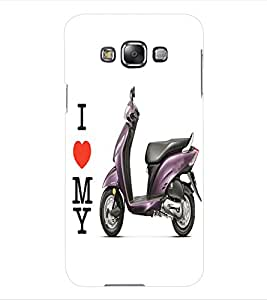 ColourCraft Scooty Back Case Cover for SAMSUNG GALAXY GRAND MAX G720
