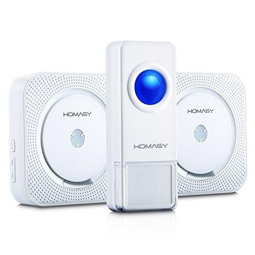 wireless-doorbell-victsingr-ip55-waterproof-wireless-door-chime-kit-2-plug-in-receivers-1-push-butto
