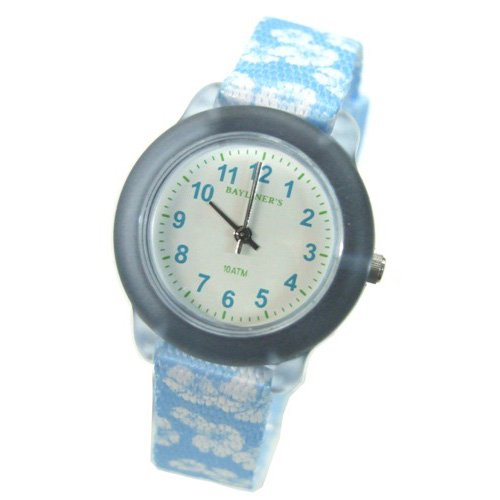 [Crerar] CREPHA for kids watches analog display 10 ATM water resistant light blue BLCC-230-LB girls