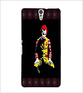 PrintDhaba Joker D-4075 Back Case Cover for SONY XPERIA C5 ULTRA (Multi-Coloured)