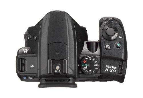 Pentax-K-30-Corpo-Macchina-Sensore-CMOS-APS-C-da-1649-Megapixel-Display-LCD-da-3-Video-Full-HD-Nero