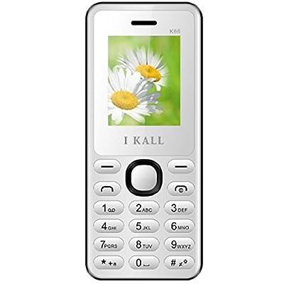 I Kall K66 1.8 inch Dual Sim Mobile (White)