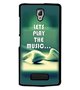 PrintDhaba Quote D-2368 Back Case Cover for LENOVO A2010 (Multi-Coloured)