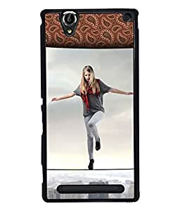 Printvisa 2D Printed Girly Designer back case cover for Sony Xperia T2 Ultra - D4616
