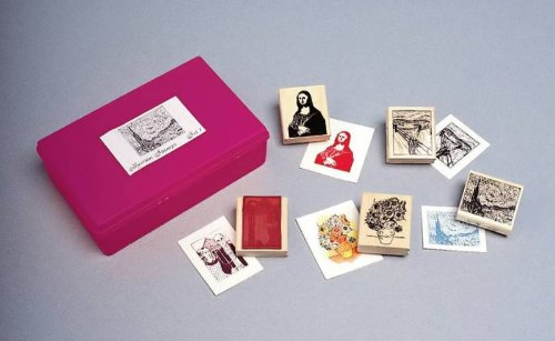 Sax Fine Art Rubber Stamp Set
