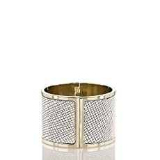 Large Cuff Bracelet<br>Black Deco