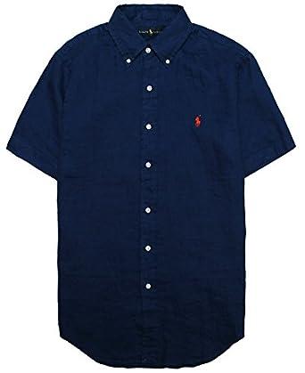 Polo Ralph Lauren Men 39 S Short Sleeve Line Summer Button