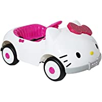 Dynacraft Hello Kitty Kitty Car 6-Volt Battery-Powered Ride-On