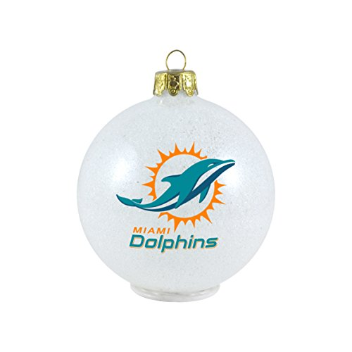 Miami Dolphins Tree Ornament, Dolphins Tree Ornament
