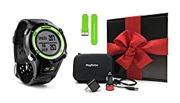 Garmin Approach S2 GIFT BOX   Golf GPS Watch, Case, Wall & Car Charge Adapters (Green)