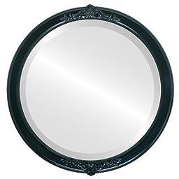Athena Circle in Gloss Black