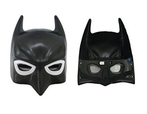 Black Fashion Halloween Carnival Mask Dress Batman Super Cool