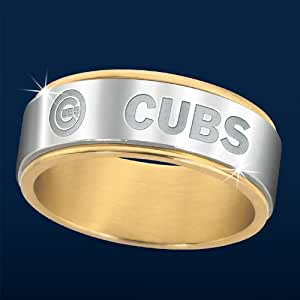 Chicago Cubs Spinner Ring