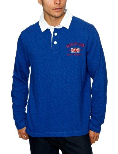 Musto Tudor Rugby Men's Sweatshirt Royal Blue Small