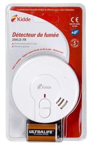 Test détecteur de fumée kidde Daaf 29 hld-fr