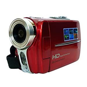Buyee Hd 20mp 16x Zoom Digital Video Camera Camcorder Dv Full Hd 720p Red