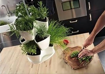 Kreher pot 3 3 tages pour plantes avec syst me d 39 irr - Systeme d irrigation maison ...