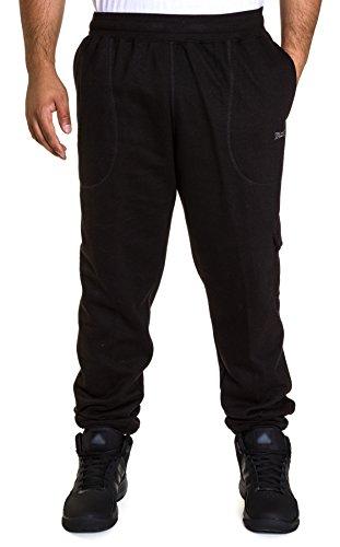 Spalding Men's Comfort Fleece Athletic Fit Jogger Black, Large