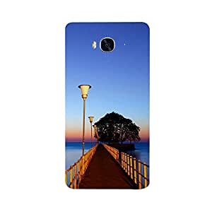 Skintice Designer Back Cover with direct 3D sublimation printing for Huawei 5x
