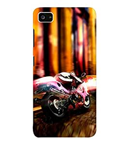 EPICCASE Racer Mobile Back Case Cover For Lenovo ZUK Z2 (Designer Case)