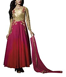 Sara Fashion Women's Georgette Unstitched Dress Material (Multi-Coloured)
