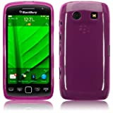 Blackberry Torch 9860 Gel Skin Case / Cover - Purple PART OF THE QUBITS ACCESSORIES RANGEby TERRAPIN