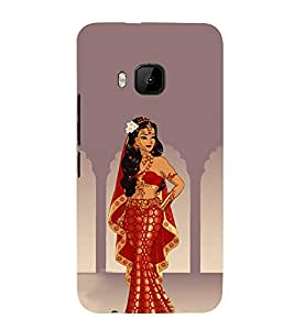 iFasho Draupadi Mahabharat Back Case Cover for HTC One M9