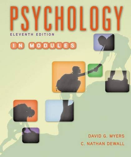 Psychology in Modules (Psychology Myers Modules compare prices)