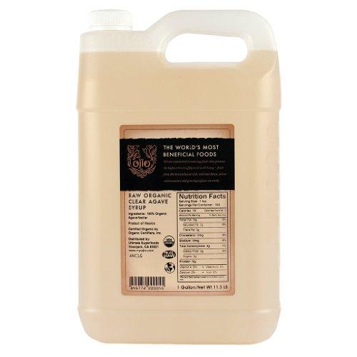 Ojio: Organic Clear Raw Agave Nectar 1 Gal (4 Pack)